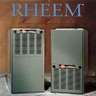 Rheem Criterion Ii Gas Furnace Parts List Website Of